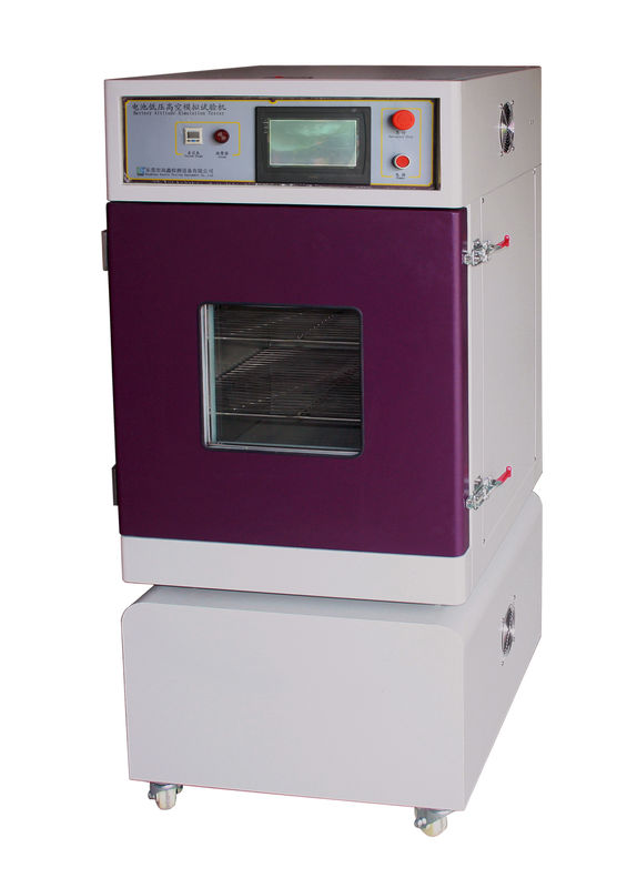 Low Pressure Altitude Simulation Battery Testing Equipment Battery  Vacuum Oven
