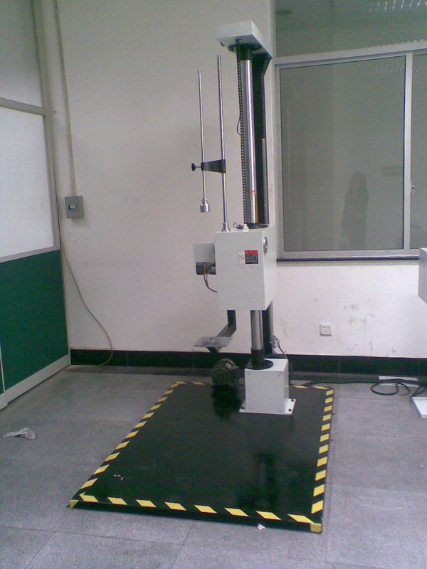 Single-Column Drop Impact Tester / Impact Testing Machine for loaded Boxes